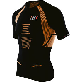 X-Bionic The Trick Running Shirt SS Men Black/Orange Shiny